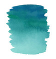 blue color watercolor hand drawn gradient banner vector image