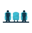 chair couch style icon vector image