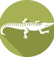 Crocodile Icon vector image