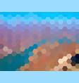 defocused mountains landscape background vector image vector image