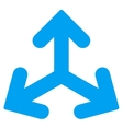 Direction Variants Icon vector image vector image