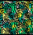 exotic seamless tropical pattern vector image