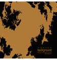 golden blob vector image vector image