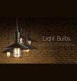 light equipment shop 3d realistic banner vector image