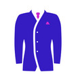 mail suit icon vector image vector image