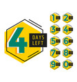 modern number days left countdown banner