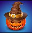 pumpkin Jack vector image vector image