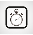 Stopwatch Icon Flat Simple vector image vector image