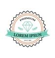 vintage jewerly logo design element vector image
