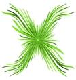 Green Original Figure vector image
