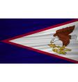 american samoa flag american samoa flag blowig vector image vector image