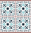 azulejos seamless pattern portuguese tiles vector image vector image