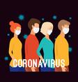 coronavirus pandemia novel coronavirus 2019-ncov vector image vector image
