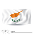 Flag of Cyprus vector image vector image