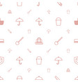 handle icons pattern seamless white background vector image vector image