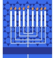 holiday hanukkah vector image