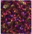 seamless black hexagonal pattern vector image vector image