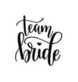 team bride hen party bachelorette wedding vector image
