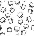 monitor seamless pattern vector image