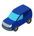 car icon isometric style vector image vector image