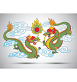 Chinese dragon3 vector image vector image