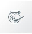 honey icon line symbol premium quality isolated vector image