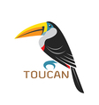 images of toucan design vector image vector image