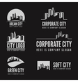 Logo badge label logotype elements with vector image vector image
