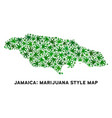 marijuana mosaic jamaica map