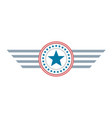 star united states of america symbol logo vector image