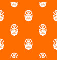 tribal mask pattern seamless vector image vector image