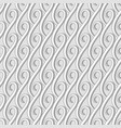 vintage seamless pattern in neutral color vector image vector image