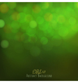 Abstract bokeh background festive lights vector image vector image