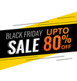 abstract modern black friday discount and sale vector image vector image