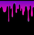 bright liquid flows down seamless design element vector image