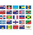caribbean flags vector image