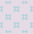 geometric seamless pattern with big crosses vector image vector image