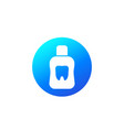 mouthwash or mouth rinse icon vector image vector image