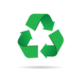 sign for recycling color vector image
