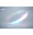 circular flare multicolor light effect abstract vector image