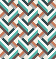 geometry rhombus seamless pattern vector image