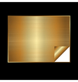 golden gradient background vector image vector image