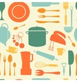Kitchen background vector image vector image