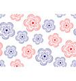 pattern flower ornate vector image vector image