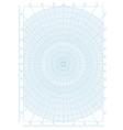 polar coordinate circular grid graph paper vector image vector image