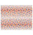 Retro polka dots not ending background vector image