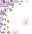 Watercolor clip art purple rosalinda vector image vector image