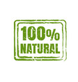 100 natural product vector image vector image