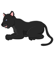 Cartoon black panther
