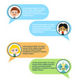 chatbot and users chating vector image vector image